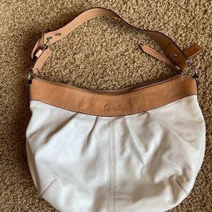 Coach hobo-style bag